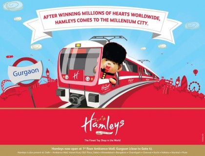 Hamleys Gurgaon Launch Ad