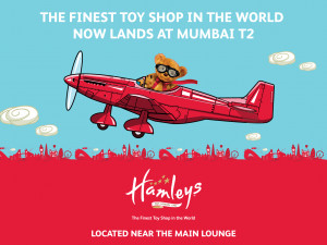 Hamleys India Mumbai Airport Ad