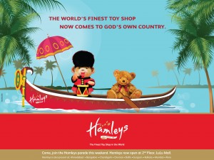 Hamleys Kochi Launch Ad